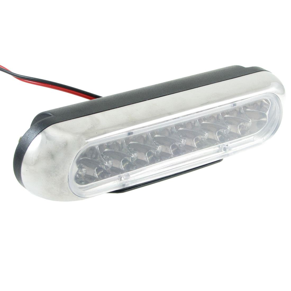 Auto Pair DC 12V White 16 LED Lamp Daytime Running Lights