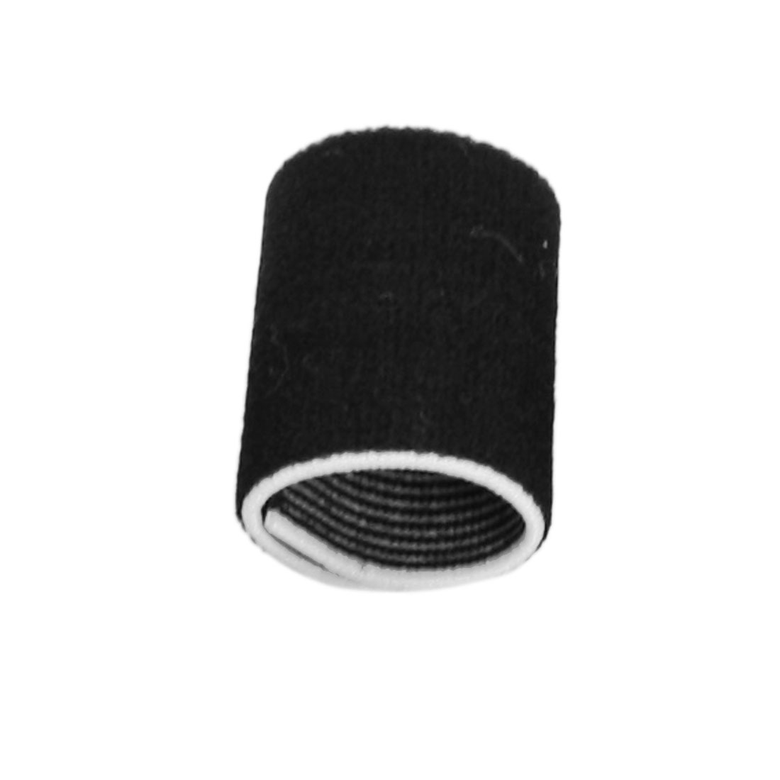 10 Pcs Elastic Black Sports Finger Wrap Sleeve