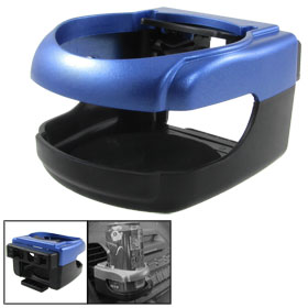 Black Blue Plastic Air Vent Drink Can Holder Stand for Car Vehicle