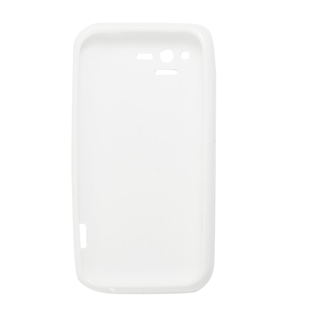 White Soft Plastic Case Cover for HTC Rhyme G20 S510b
