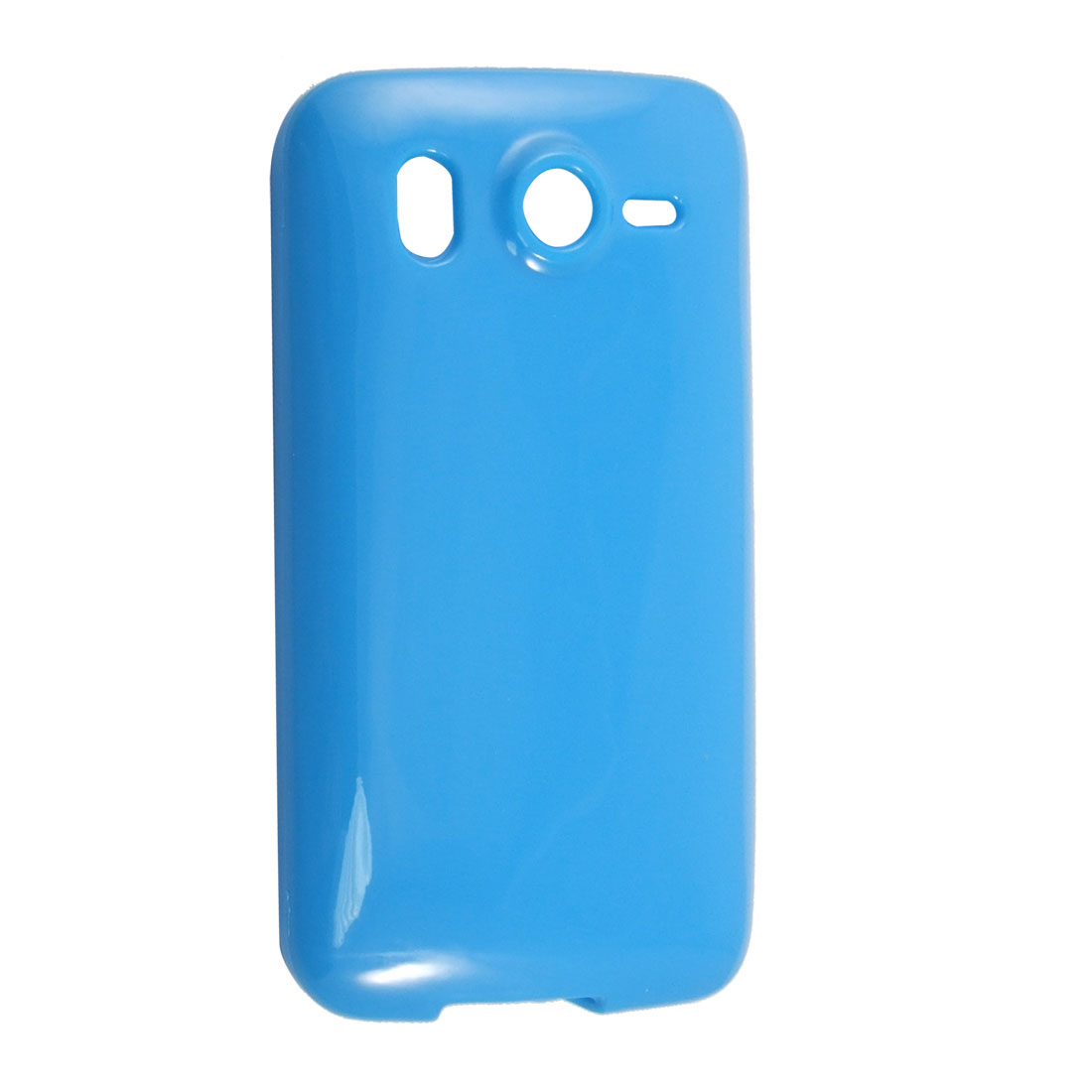 Blue Protective Soft Plastic Case Cover for HTC Desire HD G10