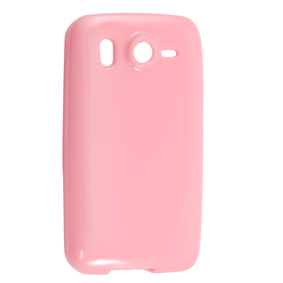 Smooth Soft Pink Plastic Protector Case Cover for HTC Desire HD G10