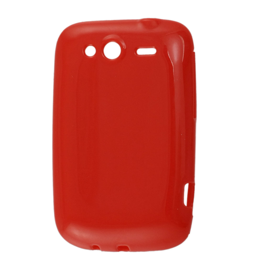 Red Soft Plastic Cover Case for HTC G13 G8s