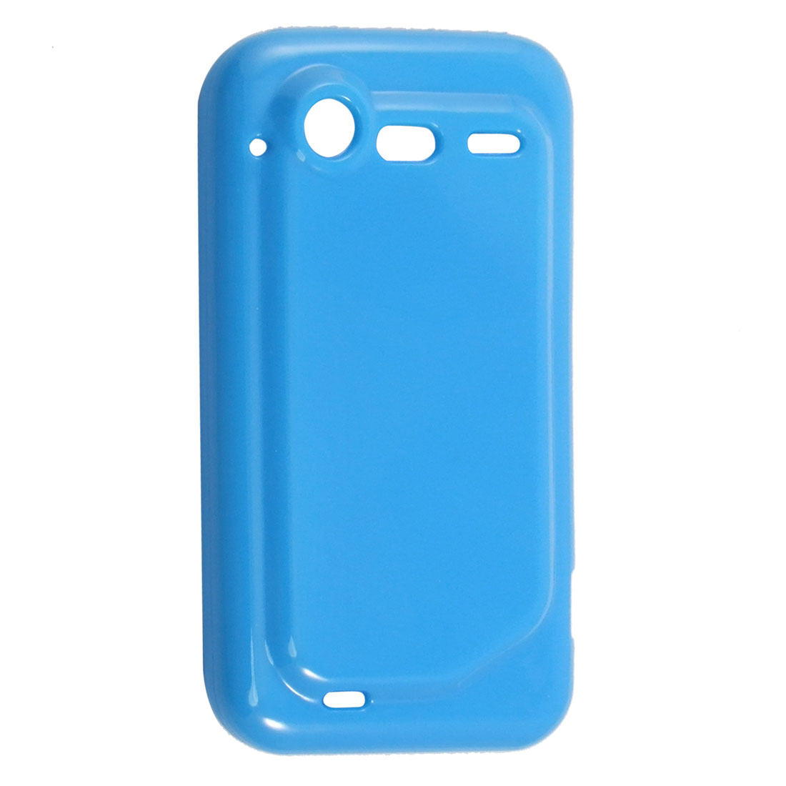 Soft Plastic Blue Guard Cover Protector Case for HTC Incredible S G11 S710e