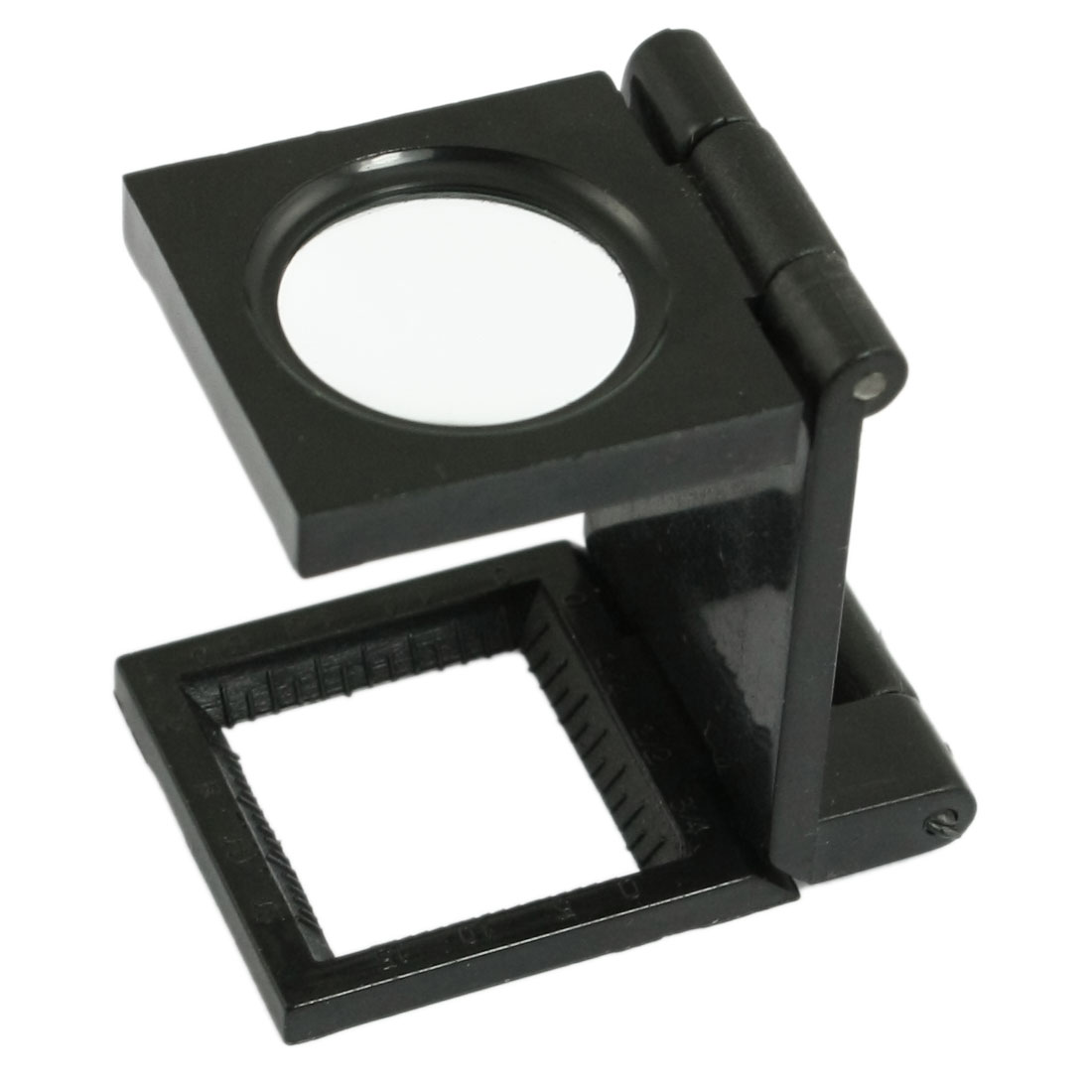 Black 1.5X Pocket Microscope Magnifier Magnifying Glass