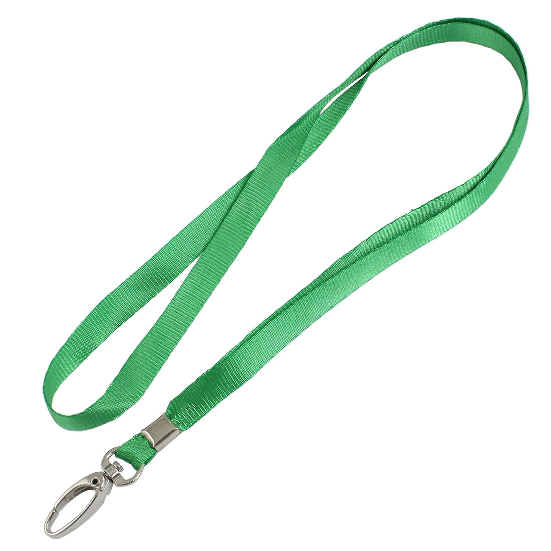2 Pcs Lobster Clasp Nylon Neck Strap Key Lanyard String Green