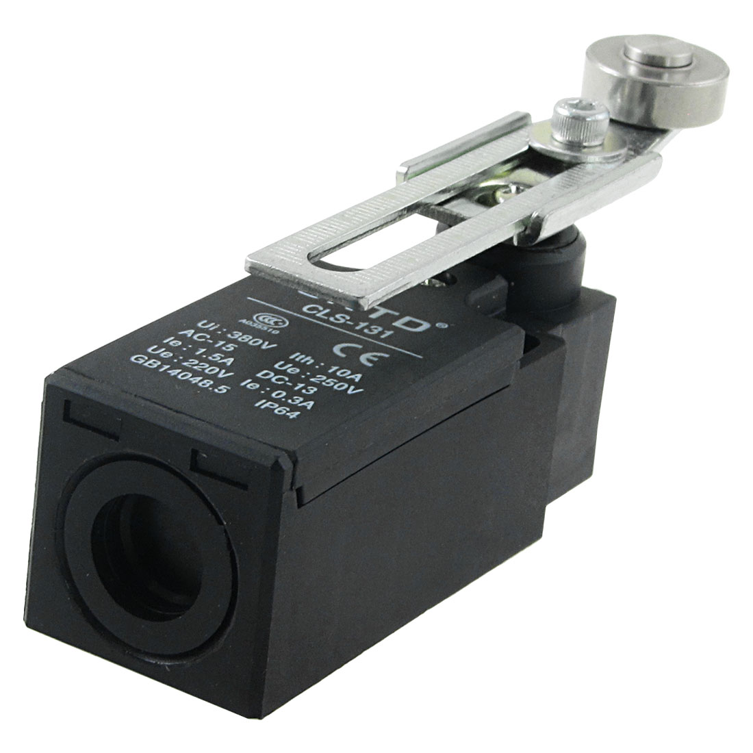 CLS-131 Rotary Adjustable Roller Lever Arm Limit Switch AC 250V 1.5A DC 220V 0.3A
