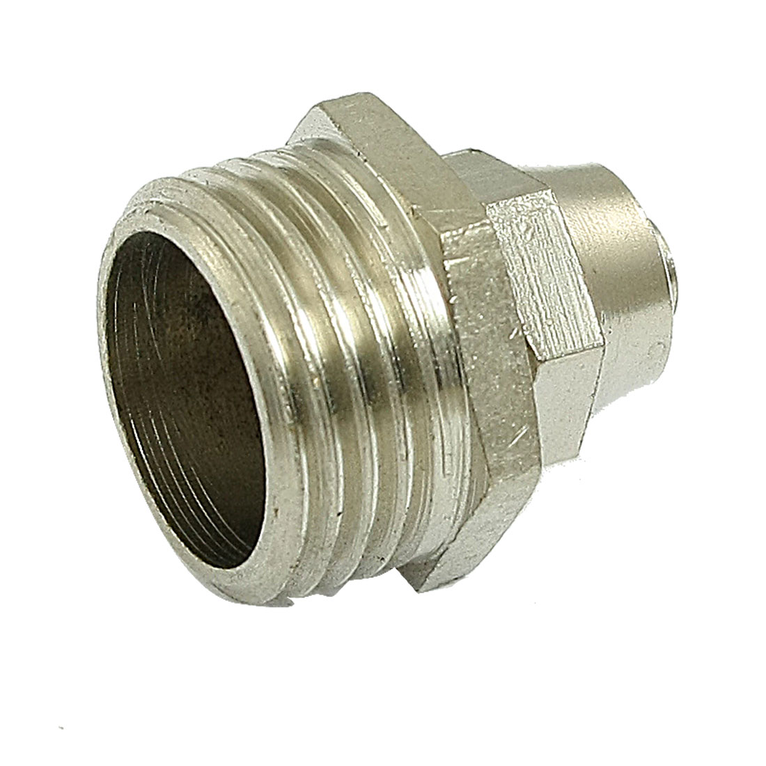 "2 Pcs 1/2"" Thread 6mm x 8mm Air Tube Straight Quick Coupling Fittings"