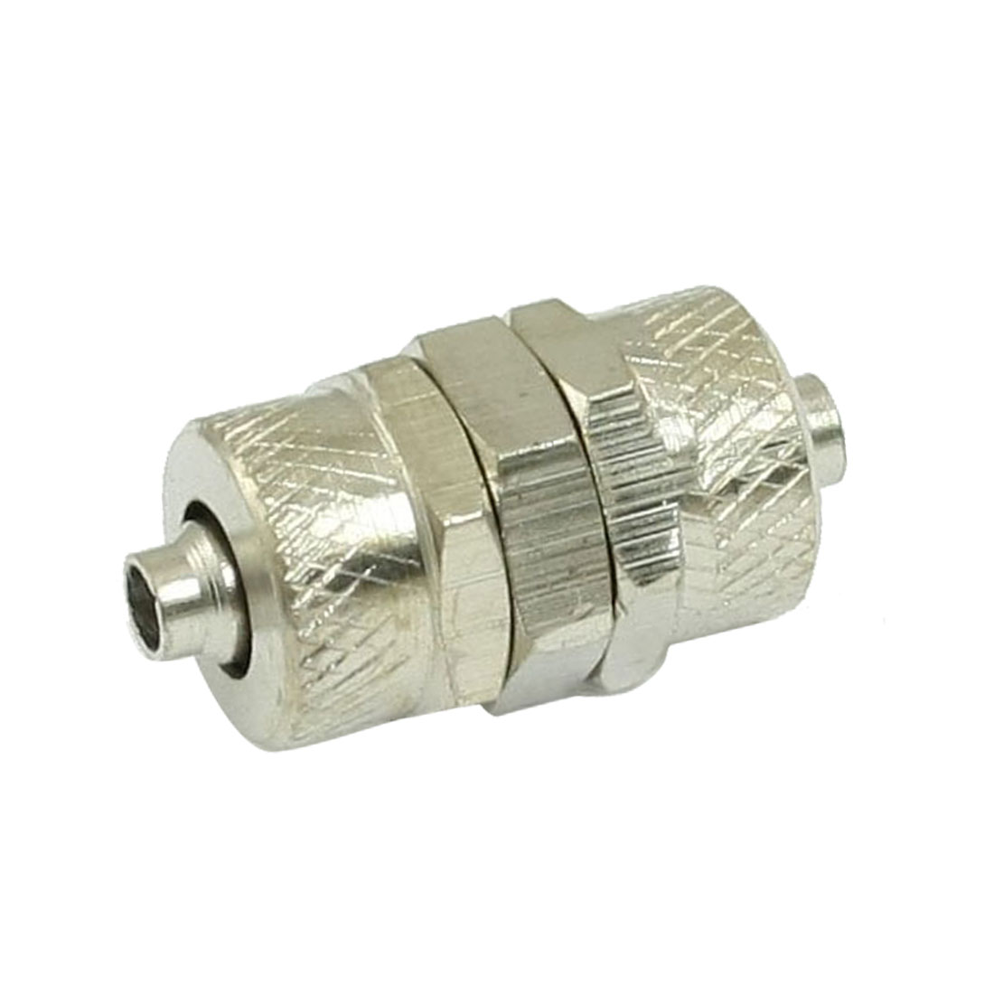 2 Pcs 4mm x 6mm Pneumatic Air Hose Quick Coupler Connector Fittings