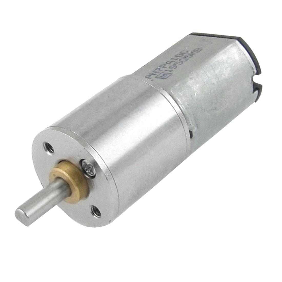 6V 0.3A 60RPM 3mm Diameter Shaft Mini DC Geared Motor