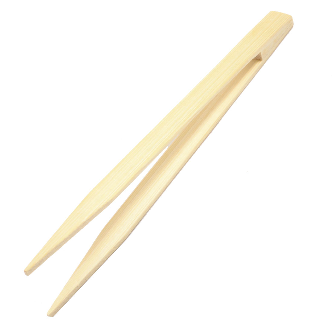 Bamboo Straight Head Repair Tool Anti-static Tweezer