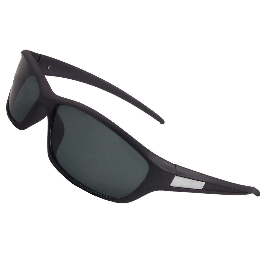 Ladies Gray Plastic Full Frame Colored Lens Sunglasses