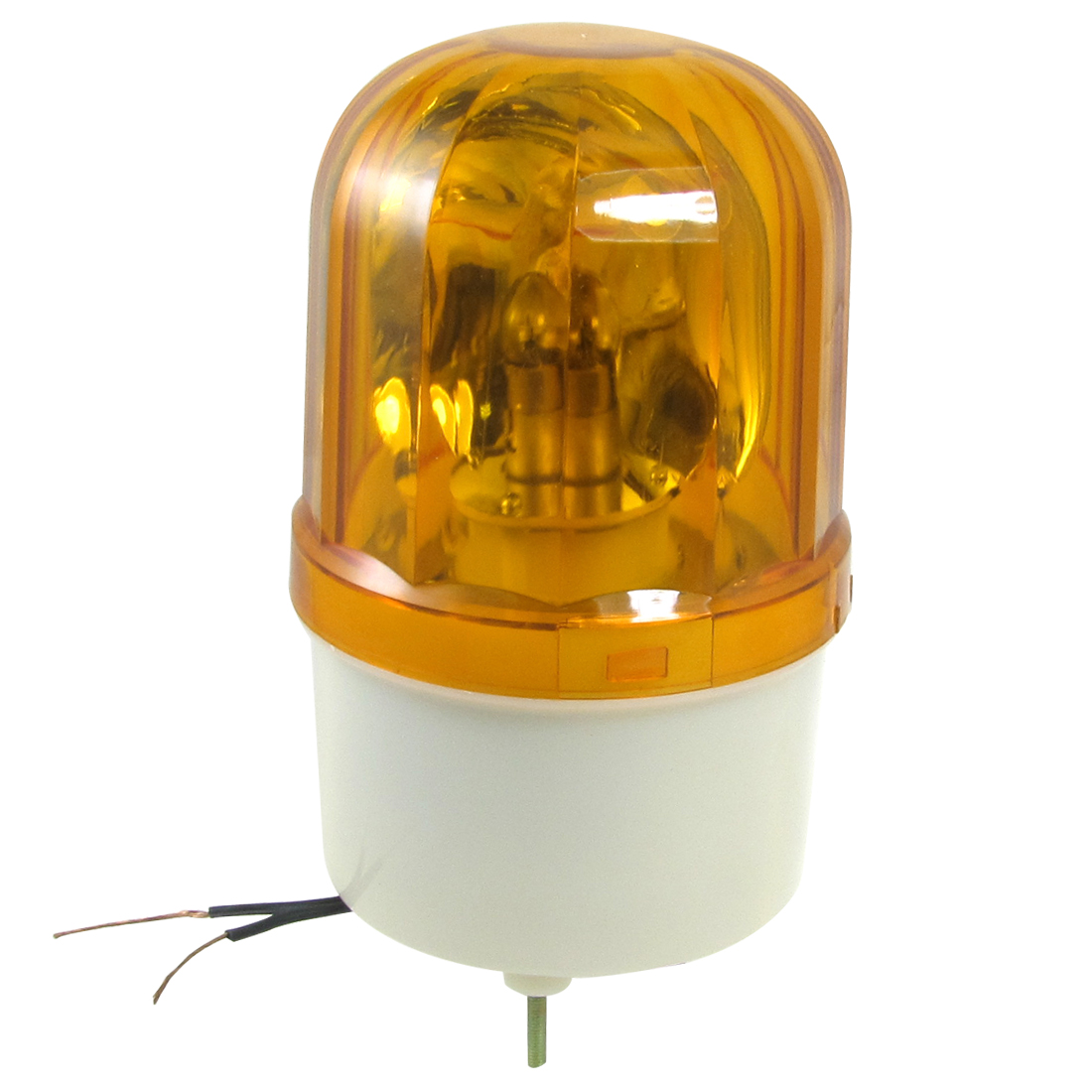 AC 220V 10W Yellow Rotating Light Industrial Signal Warning Lamp