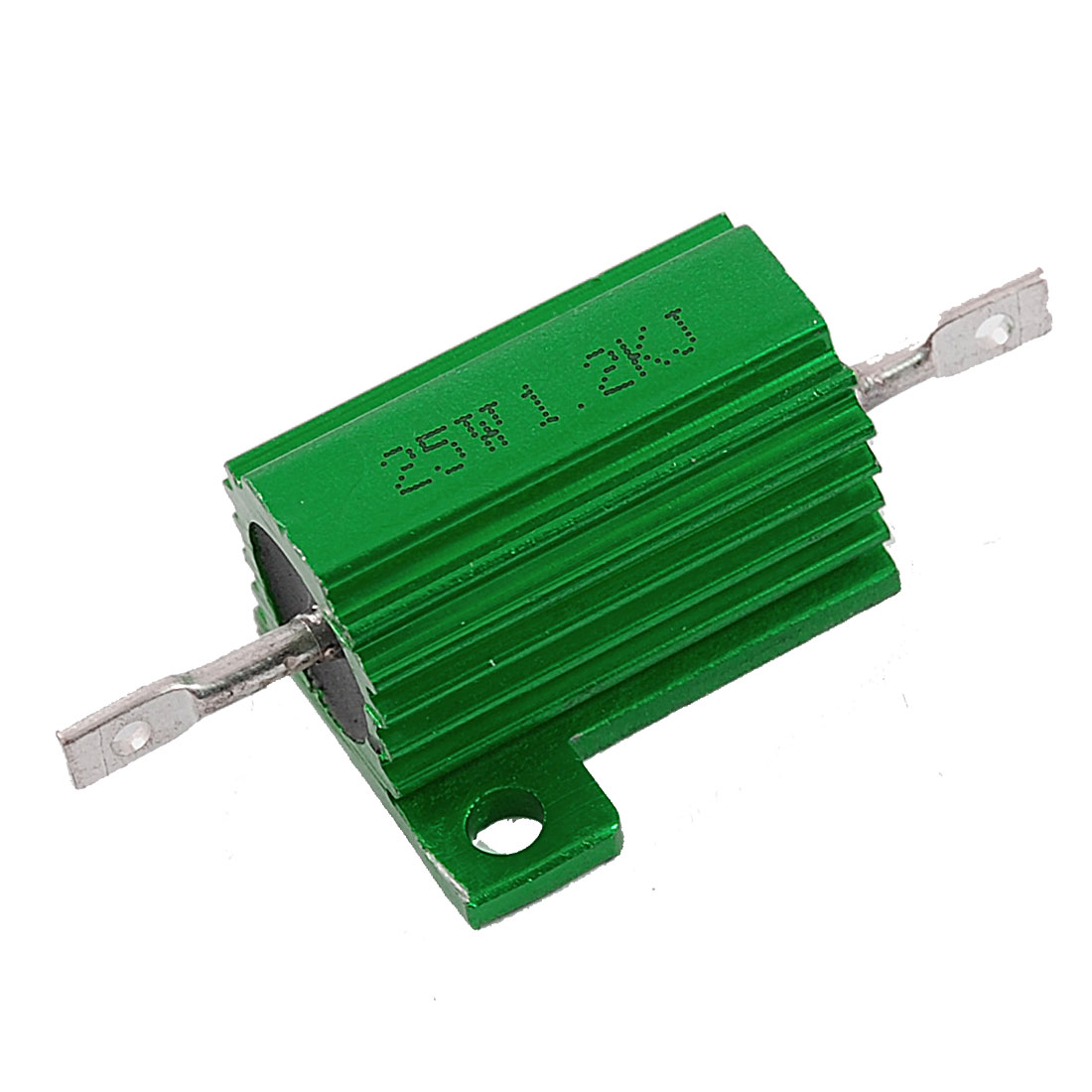 Chasis Mounted 25W 1.2K Ohm 5% Aluminum Case Wirewound Resistor