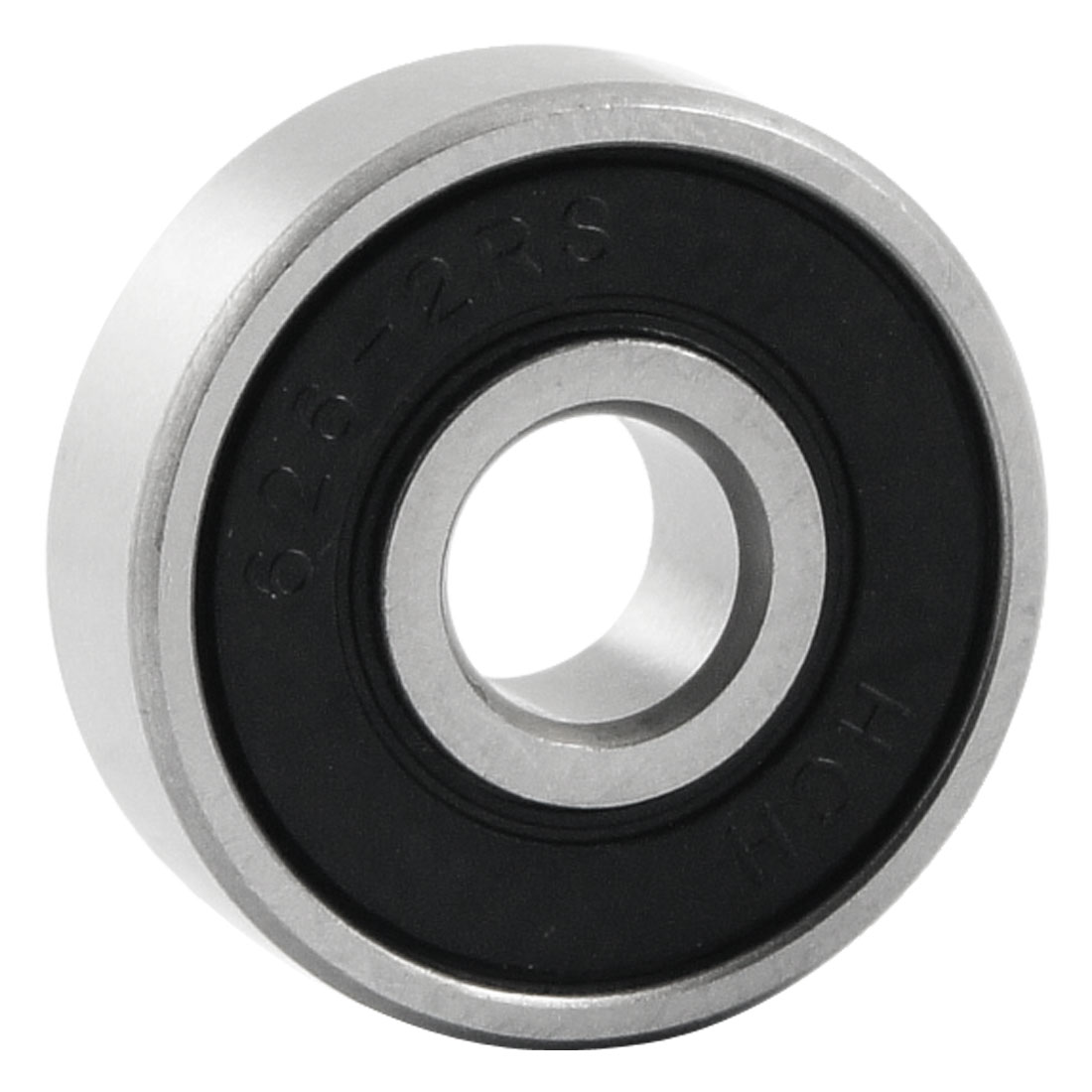 6mm x 19mm x 6mm Dual Seal Deep Groove Radial Ball Bearing 626-2RS