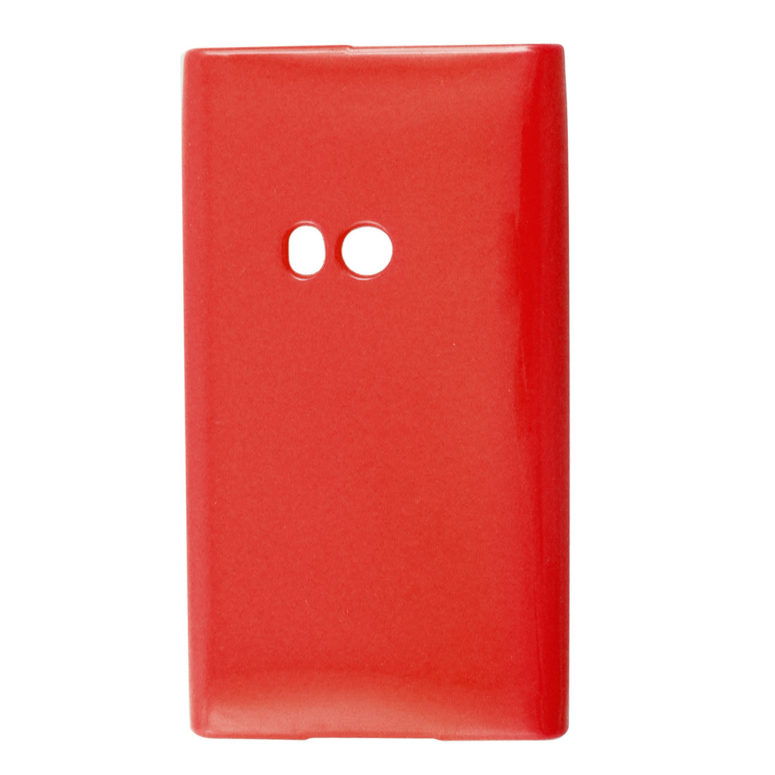 Red Soft Plastic Cover Protector Shell for Nokia N9
