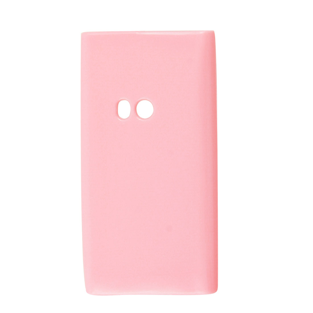 Soft Plastic Shell Cover Protector Pink for Nokia N9