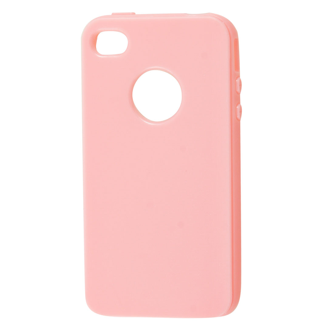 Pink Soft Plastic Case Shell for Apple iPhone 4 4G 4GS 4S