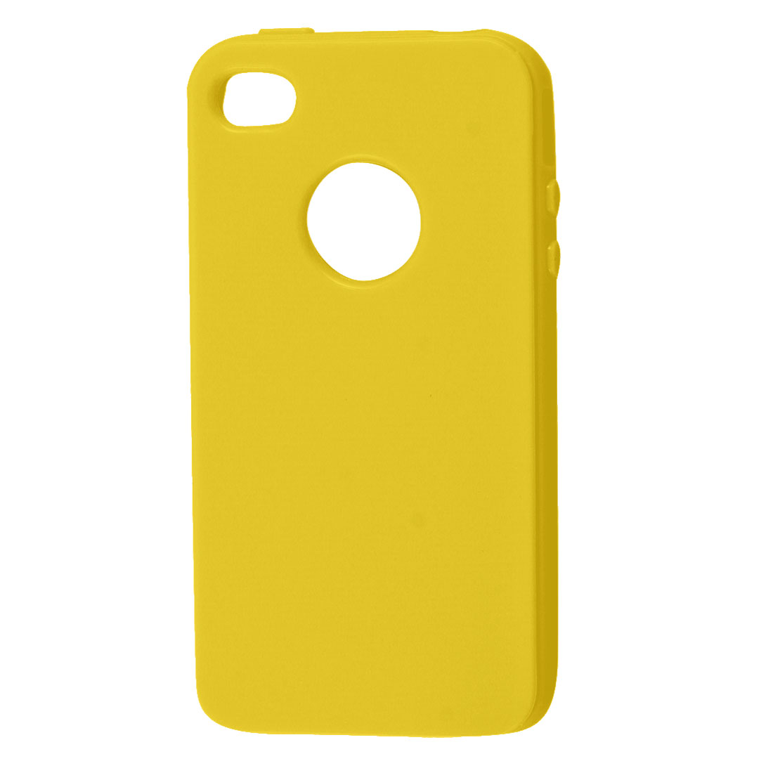 Yellow Soft Plastic Case Shell for Apple iPhone 4 4G 4GS 4S