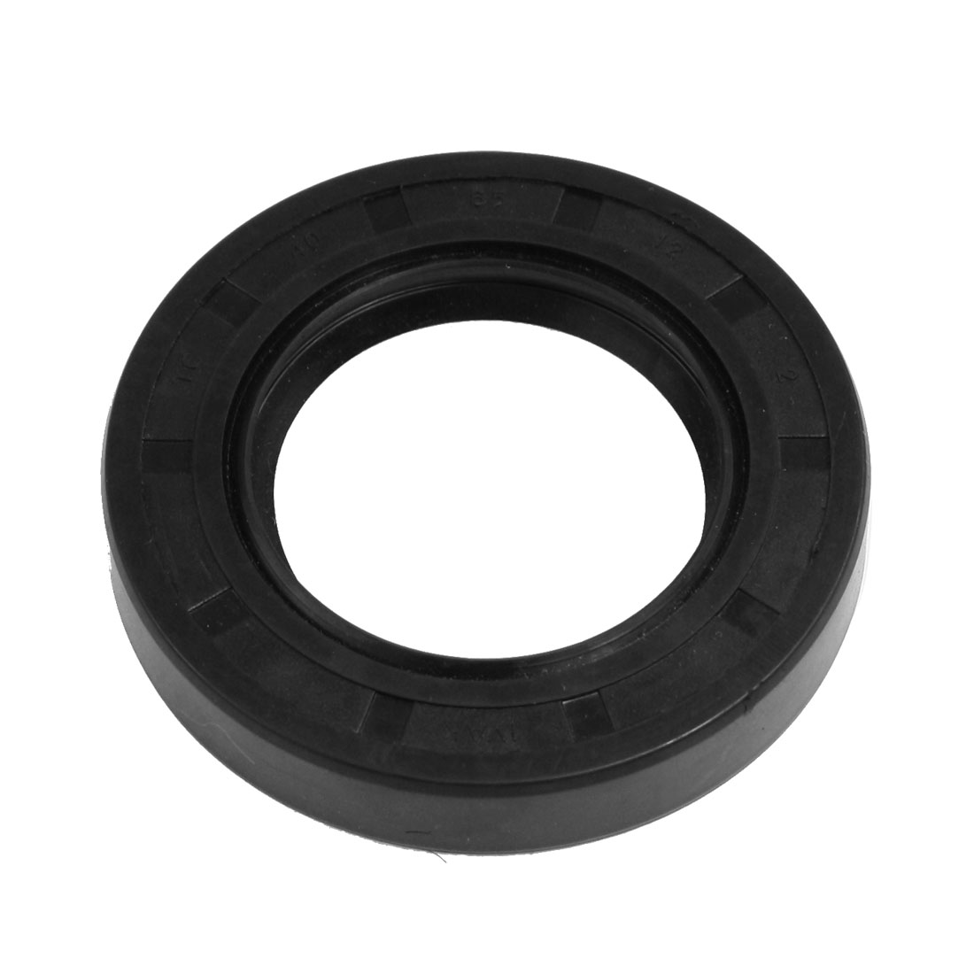 Steel Spring Nitrile Rubber Double Lip Oil Seal TC 40mm x 65mm x 12mm