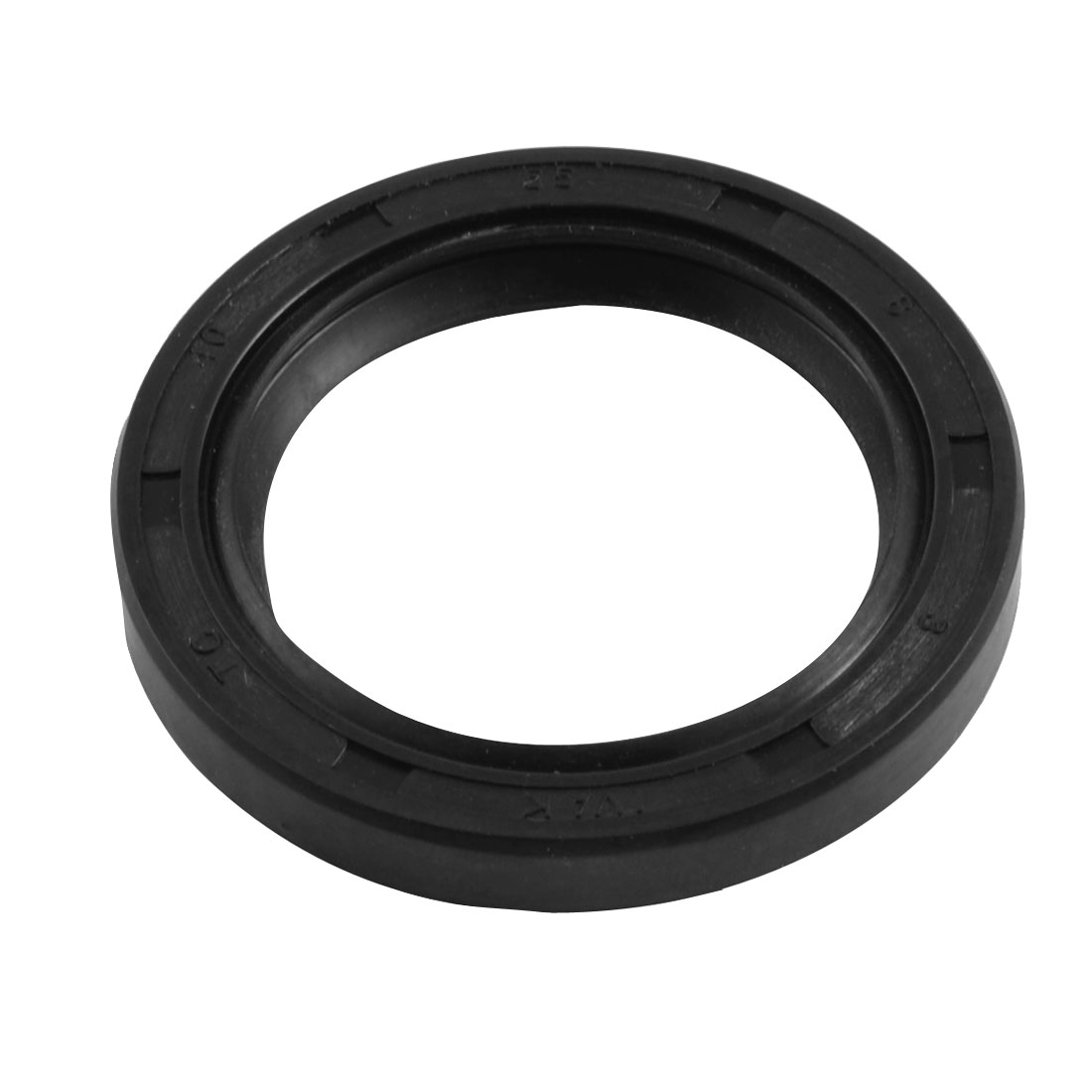 40mm x 55mm x 8mm Metric NBR Double Lipped Oil Shaft Seal TC