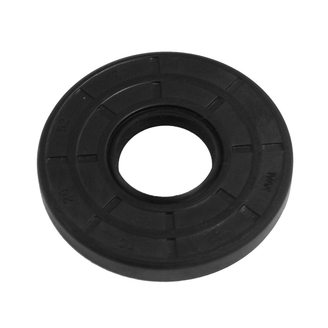 Steel Spring TC BNR Double Lip Oil Seal 20mm x 52mm x 7mm