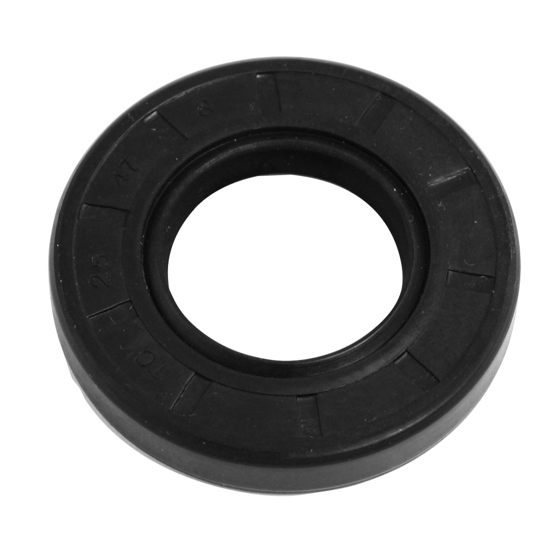 25mm x 47mm x 8mm Nitrile Rubber TC Double Lip Rotary Shaft Oil Seal
