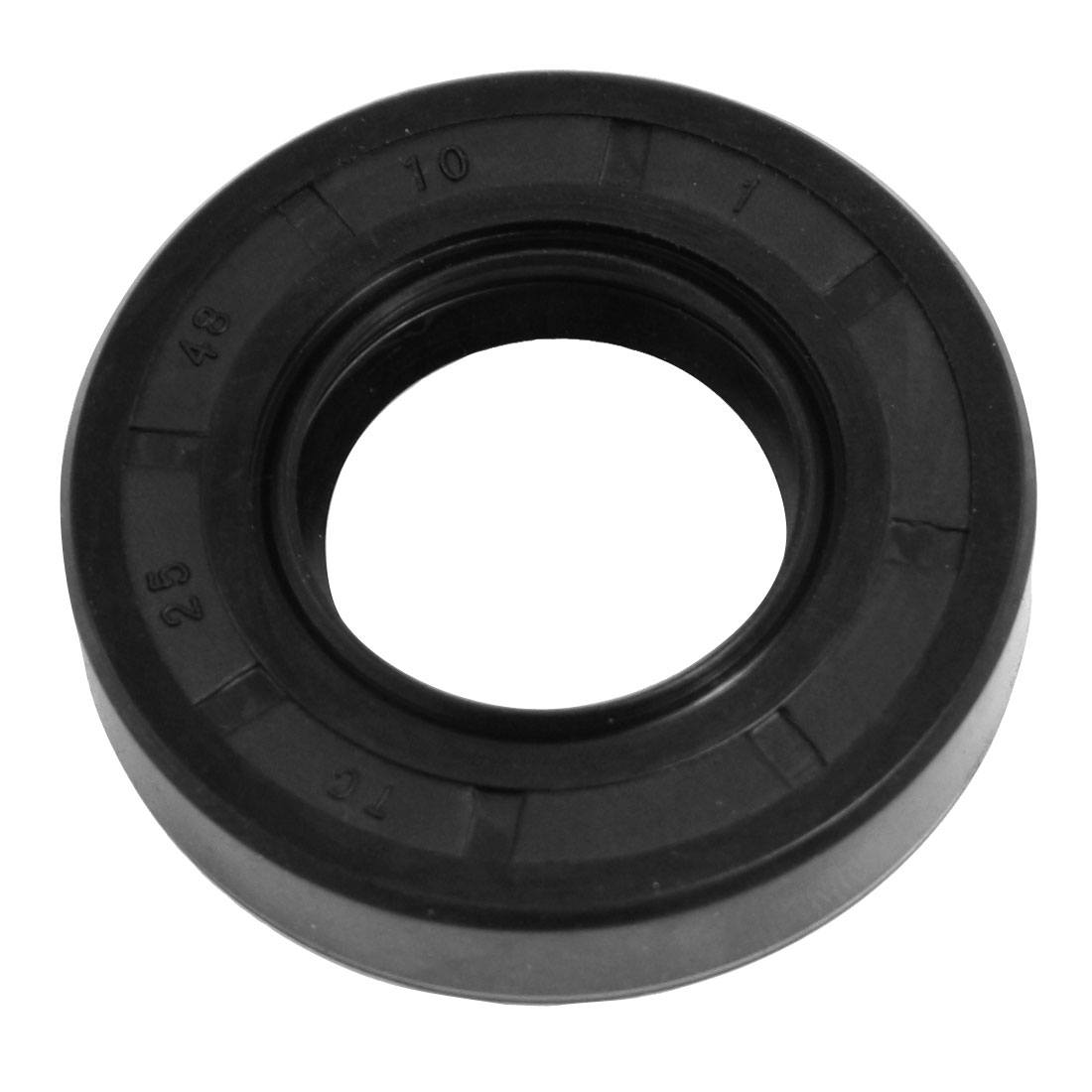 Nitrile Rubber TC Double Lip Rotary Shaft Oil Seal 25mm x 48mm x 10mm