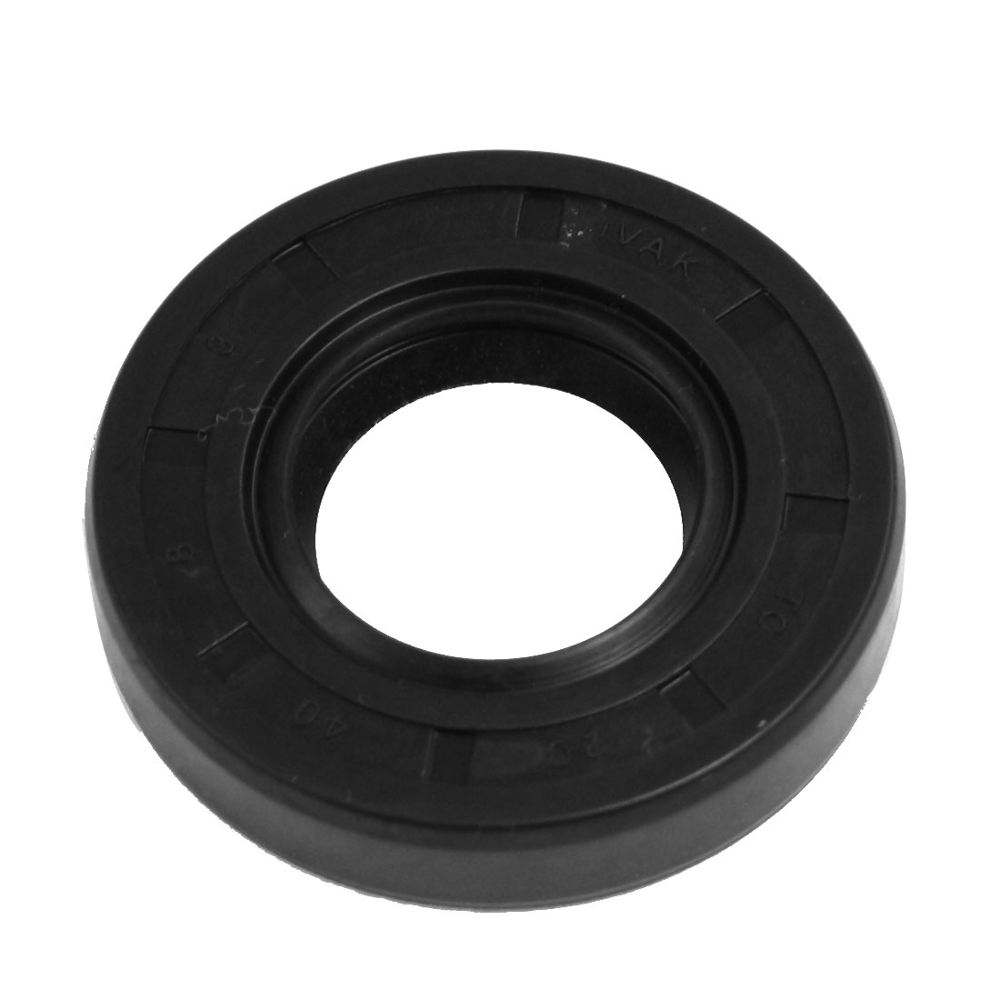 20mm x 40mm x 8mm Nitrile Rubber Double Lip TC Rotary Shaft Oil Seal