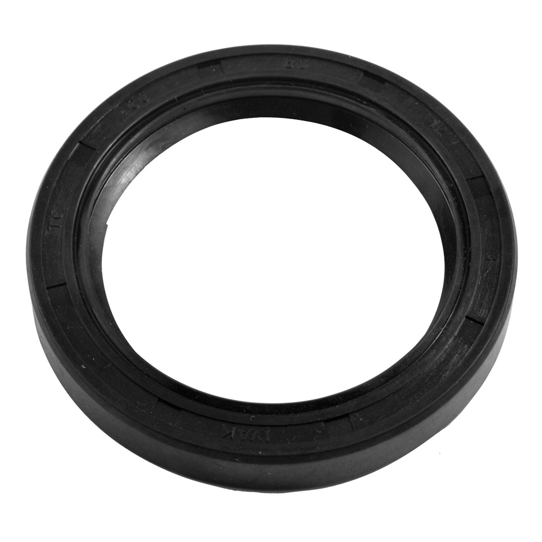 Black Nitrile Rubber Dual Lips Oil Shaft Seal TC 60mm x 80mm x 12mm