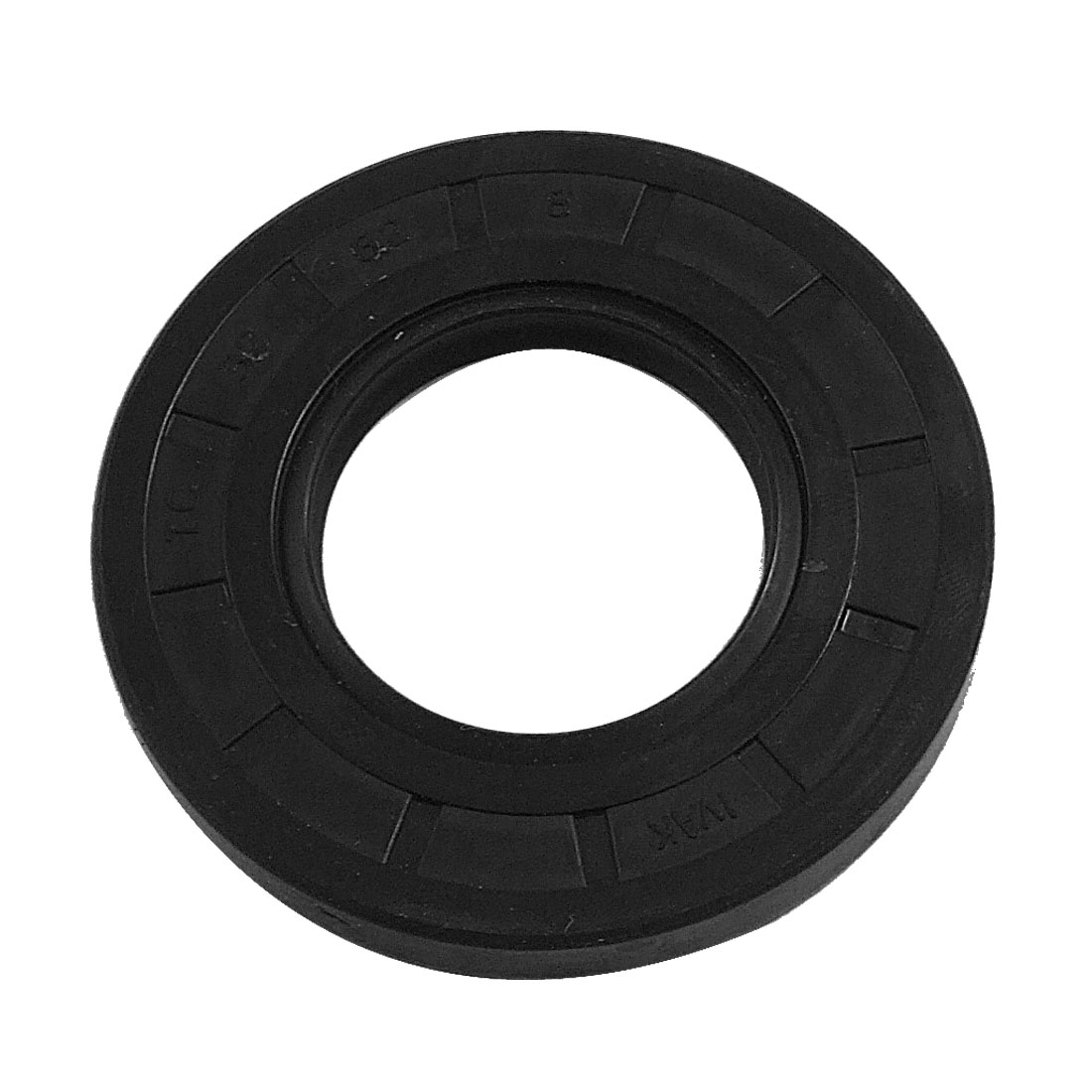 Black Nitrile Rubber Double Lip Oil Shaft Seal TC 32mm x 62mm x 8mm