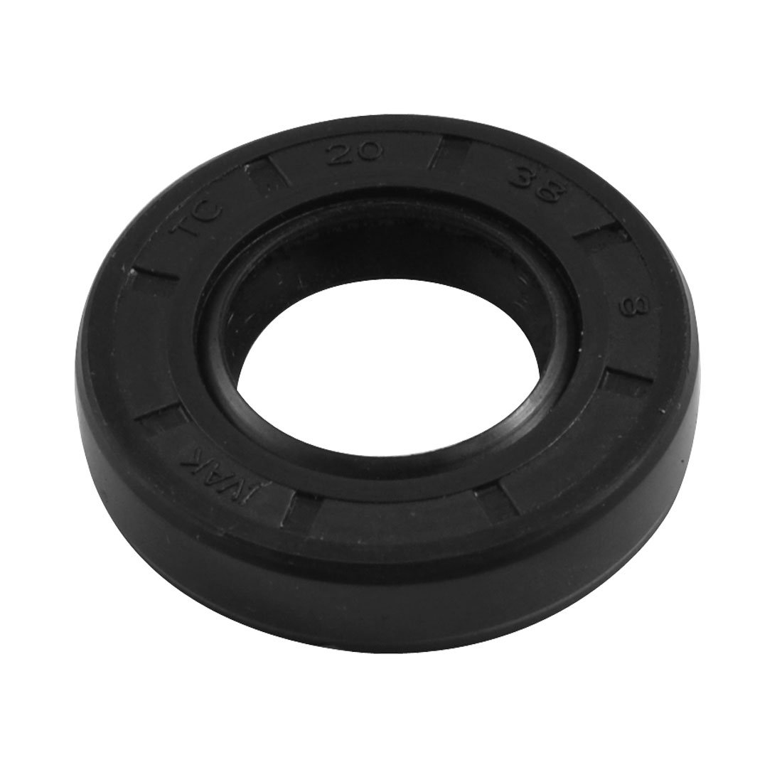 Nitrile Rubber Dual Lips Oil Shaft Seal TC 20mm x 38mm x 8mm