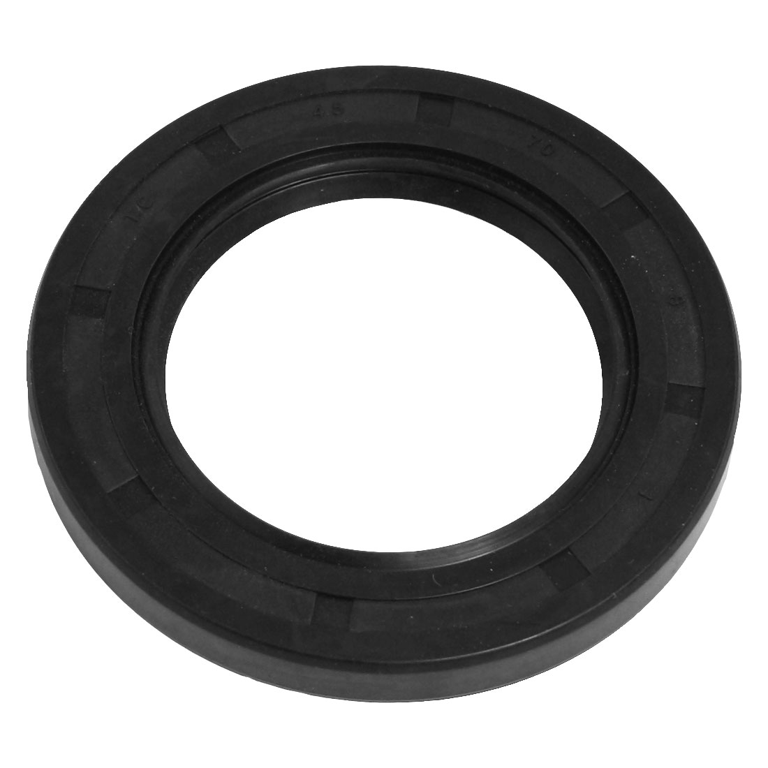 Steel Spring Nitrile Rubber TC Double Lip Oil Seal 45mm x 70mm x 8mm