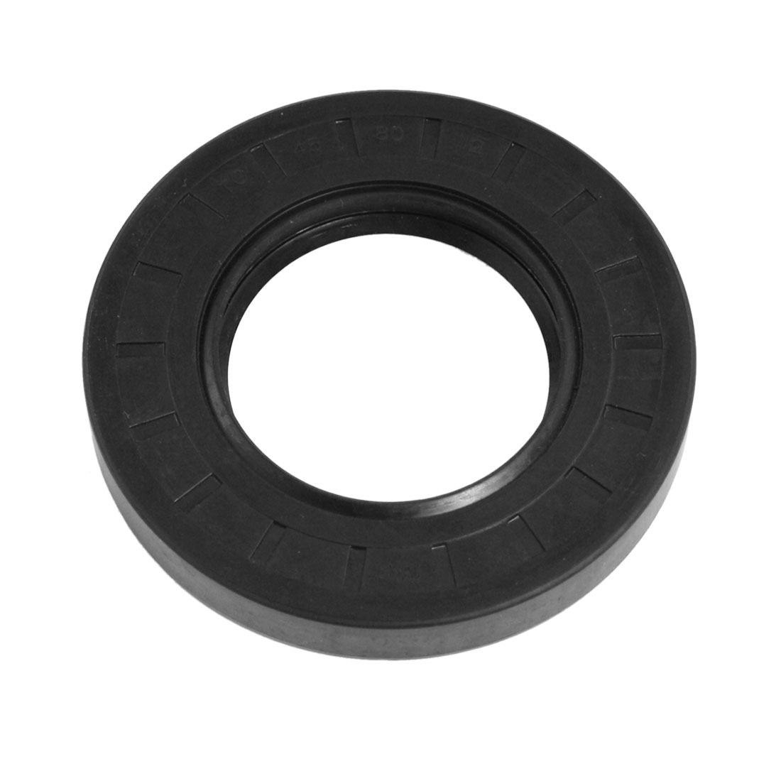Steel Spring NBR Double Lip TC Oil Shaft Seal 45mm x 80mm x 12mm