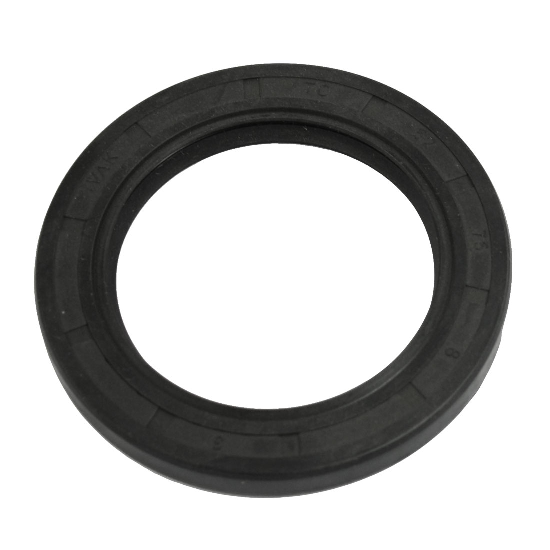 Black Nitrile Rubber Double Lip TC Oil Shaft Seal 52mm x 75mm x 8mm