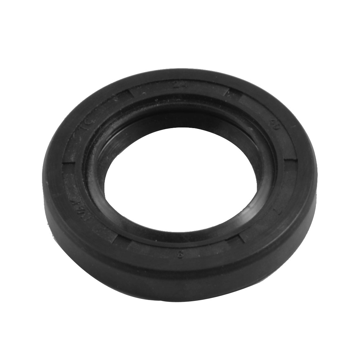 Nitrile Rubber Dual Lips Oil Shaft Seal TC 24mm x 40mm x 7mm