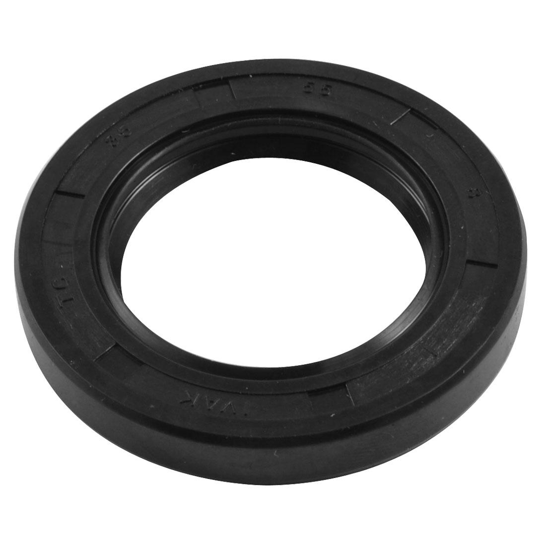 NBR TC 35mm x 55mm x 8mm Metal Spring Double Lip Oil Shaft Seal