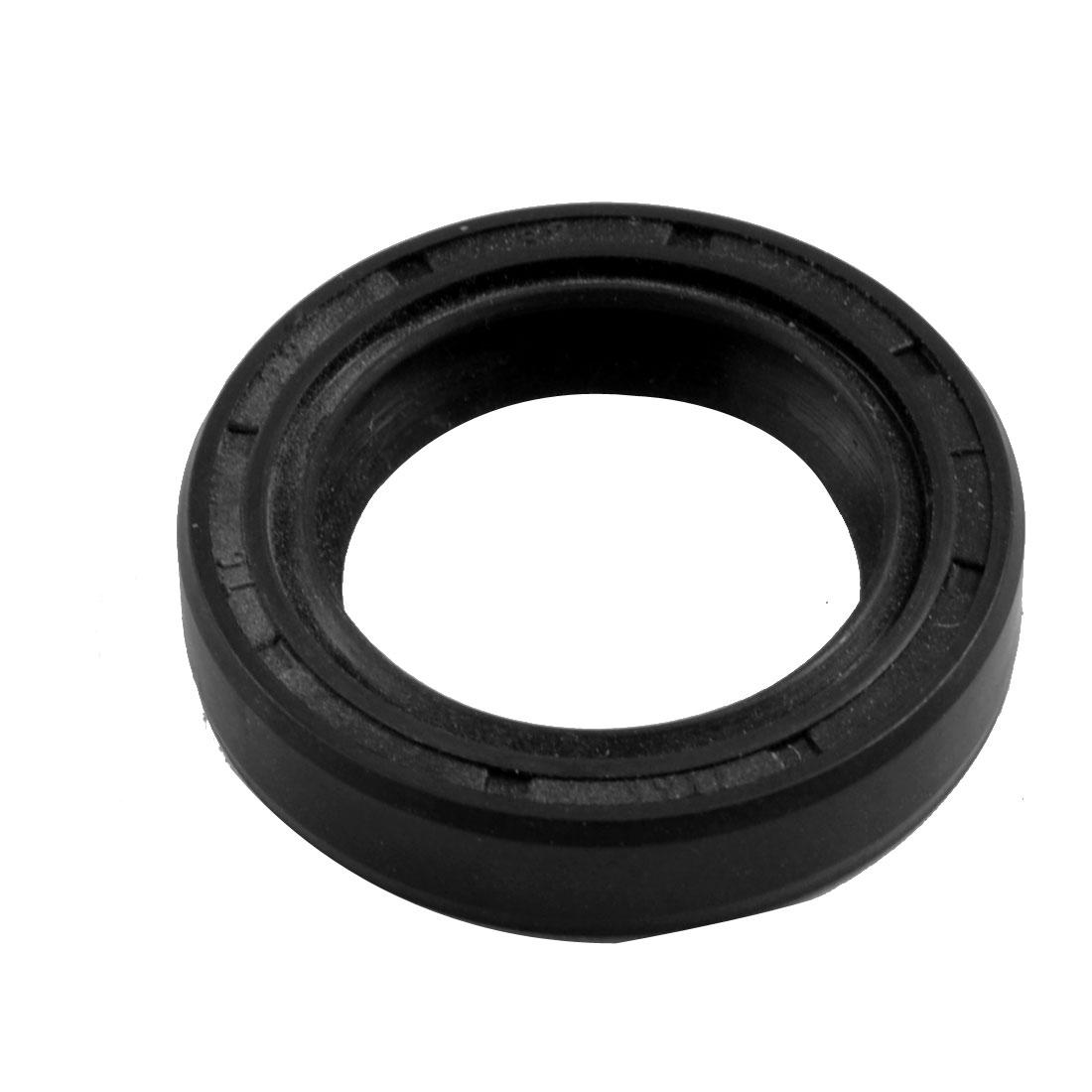 Black Nitrile Rubber Dual Lips Oil Shaft Seal TC 22mm x 32mm x 7mm