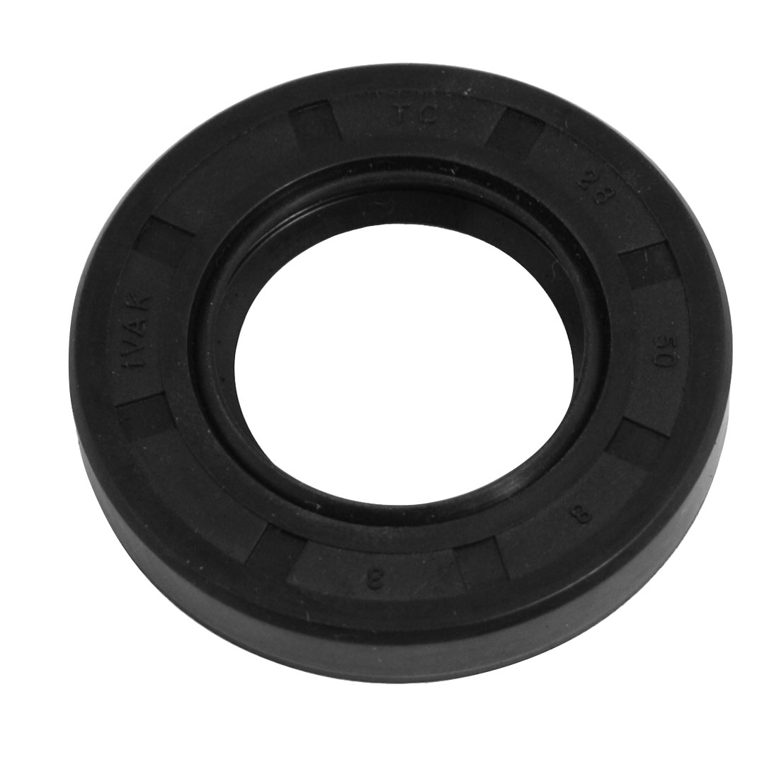 Black Nitrile Rubber Double Lip TC Oil Shaft Seal 28mm x 50mm x 8mm