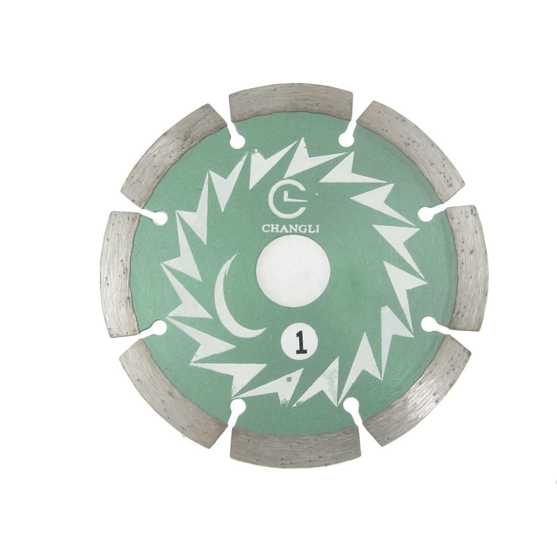 Silver Tone Kerf 105# Industrial Cutter Brick Saw Blade Bit