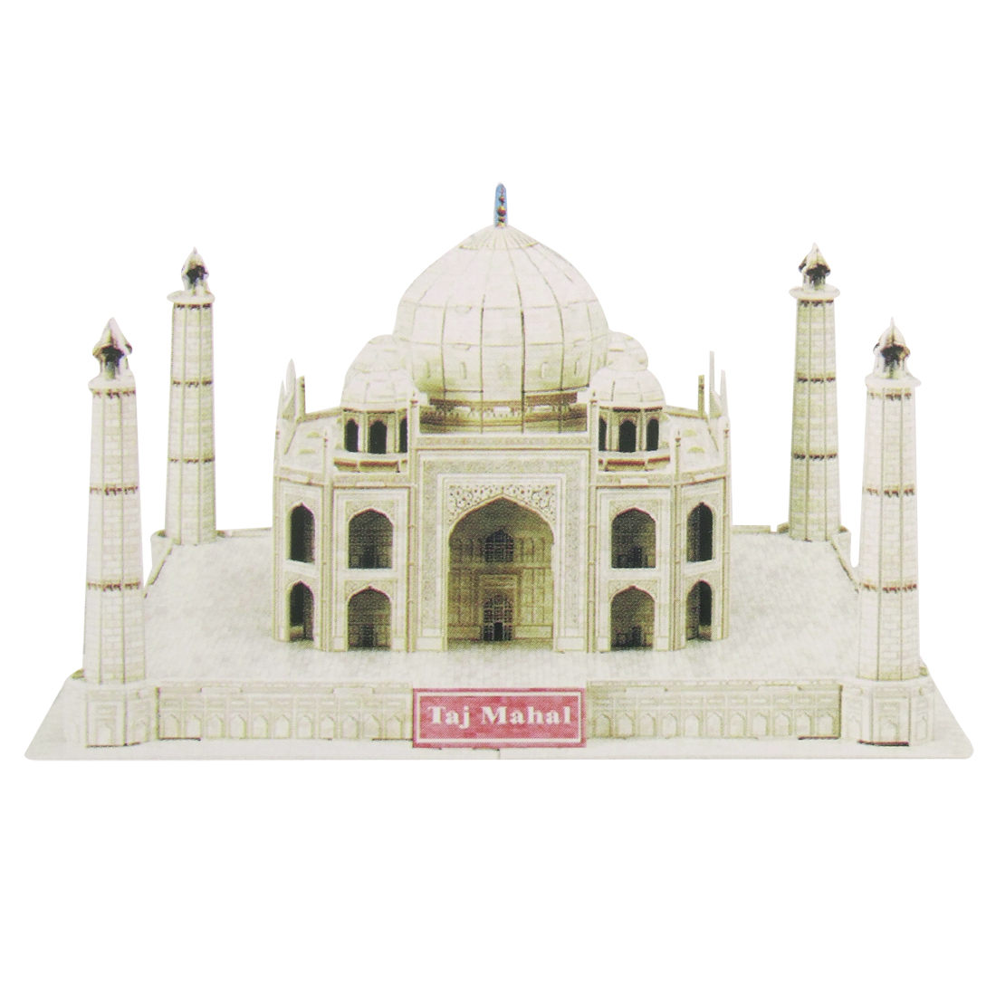 Taj Mahal Model 3D DIY 55 Pieces Foam Children Puzzle Toy
