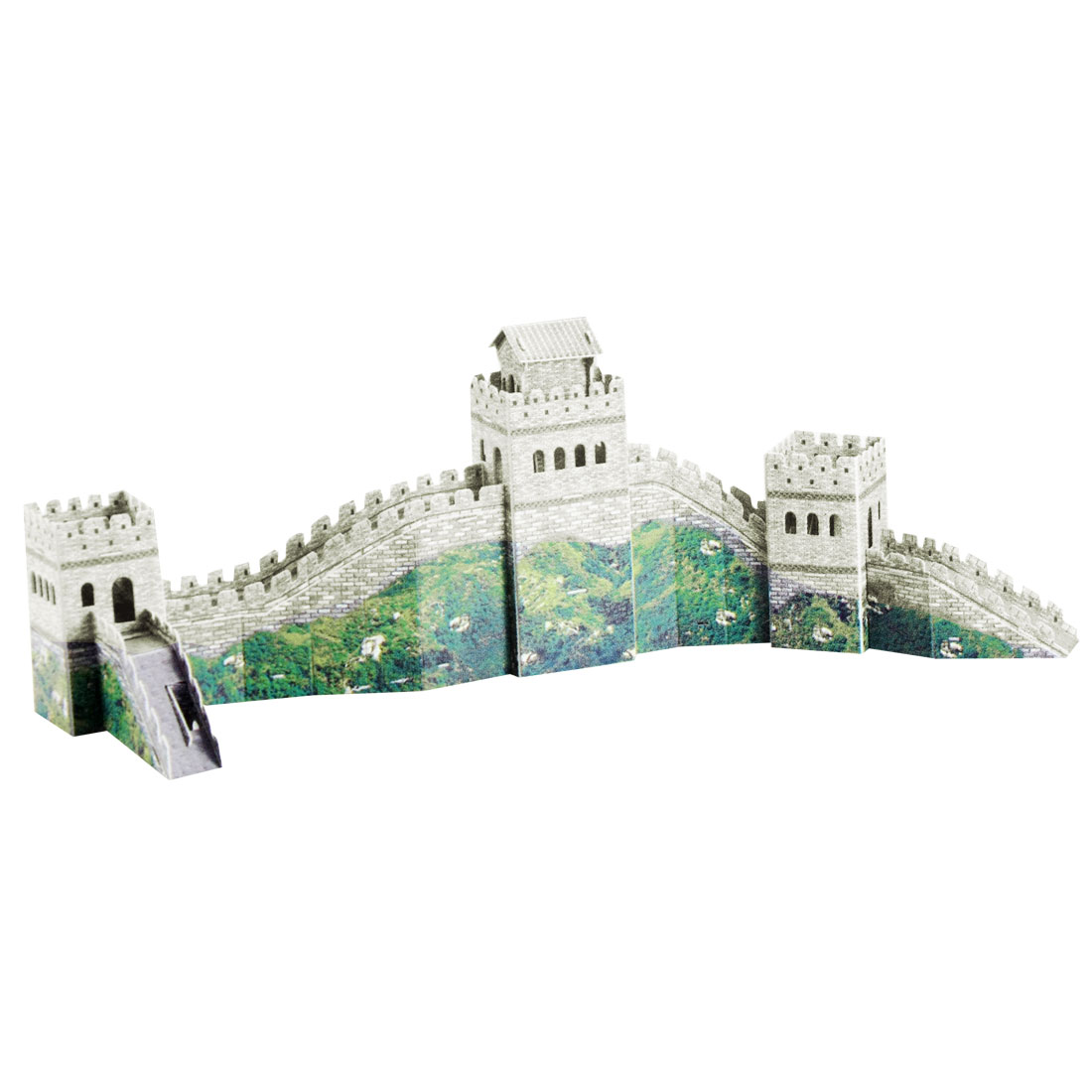 Child Foam The Great Wall Model 3D DIY Piece Together Puzzle Toy