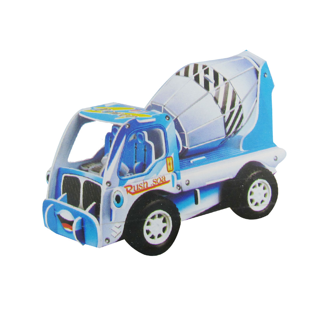 3D DIY Puzzle Mixed Truck Model Piece Together Toy