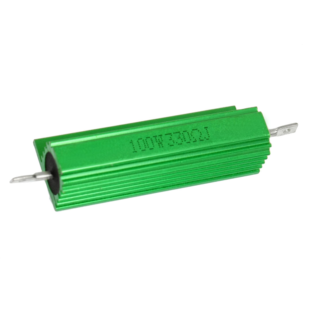 100W 330 Ohm Green Aluminum Shell Wire Wound Housed Resistor