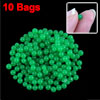 Garden Planting 2-2.5mm Dark Green Granule Crystal Soil Flower Mud 10 Bags