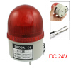DC 24V Industrial Signal Tower Buzzer Sound Alarm Red LED Warning Light