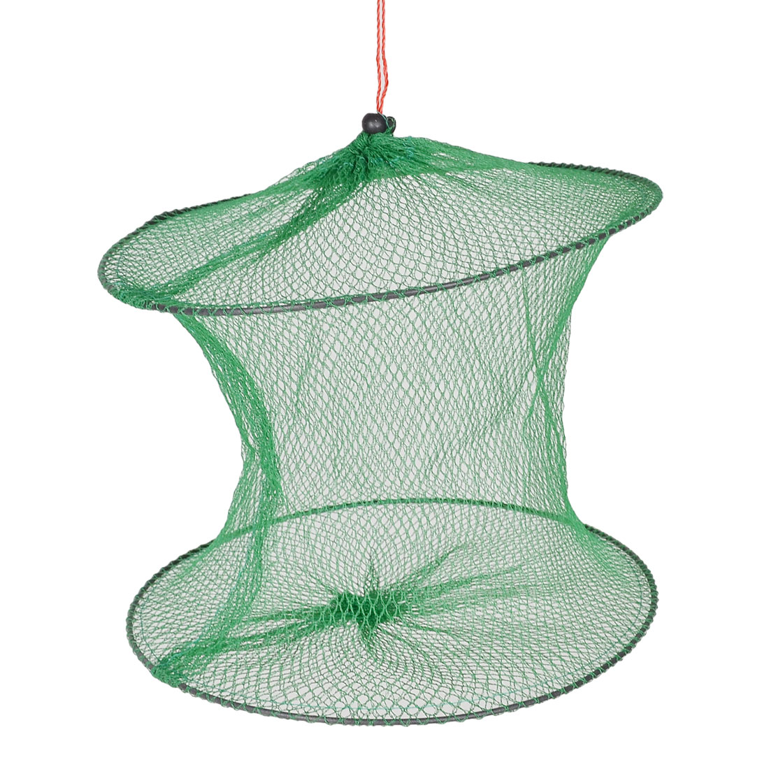 Fish 2 Layers Mesh Lobster Crab Minnow Keep Fishing Net
