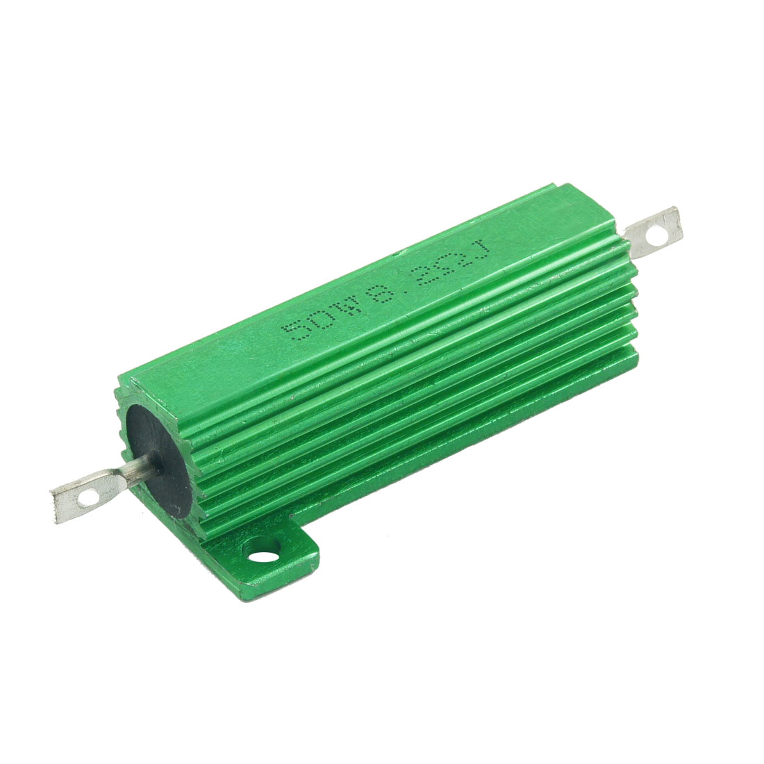 50 Watt 8.2 Ohm 5% Green Aluminum Shell Wire Wound Resistor