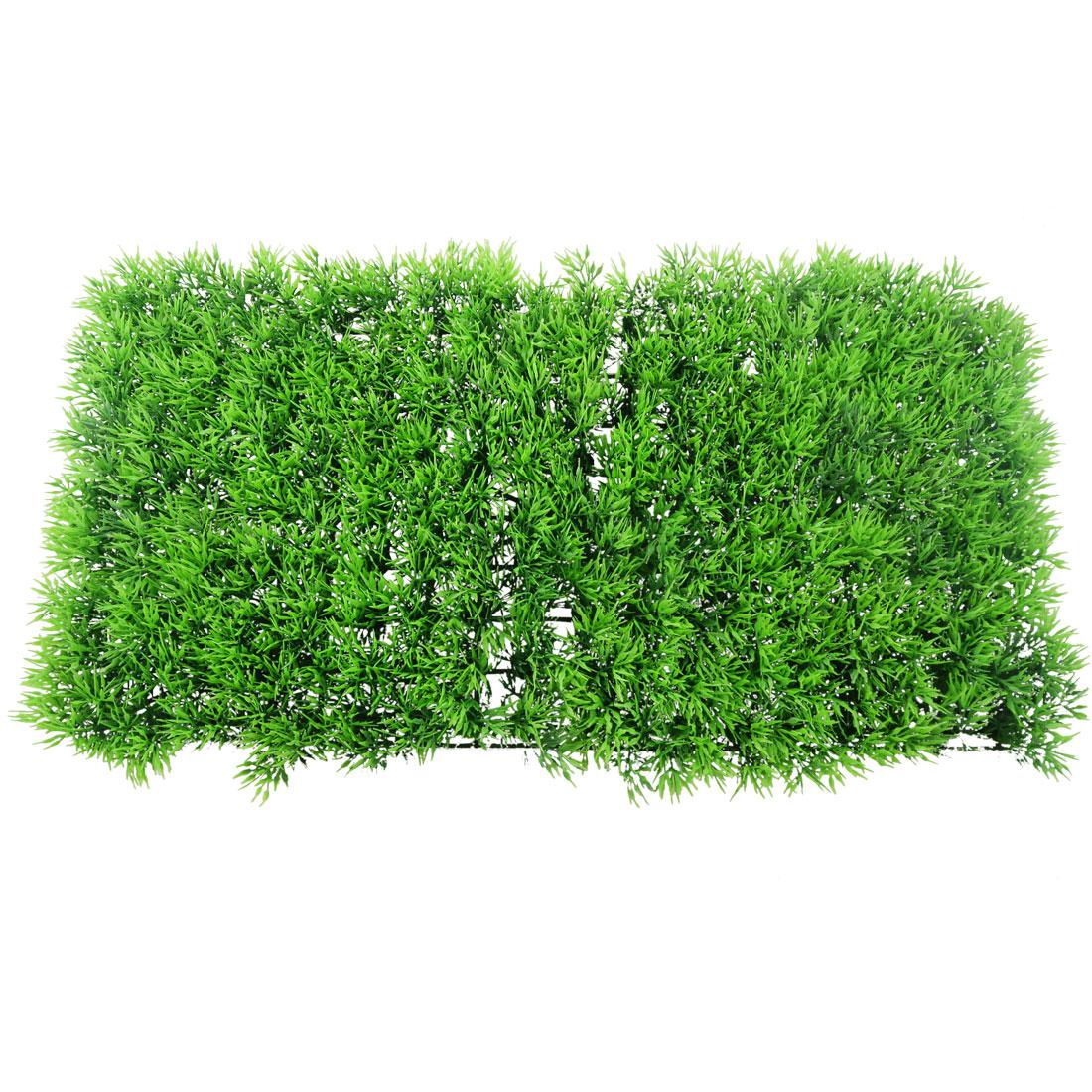 Aquarium Plastic Artificial Water Aquatic Grass Plant Lawn Turf Ornament Green