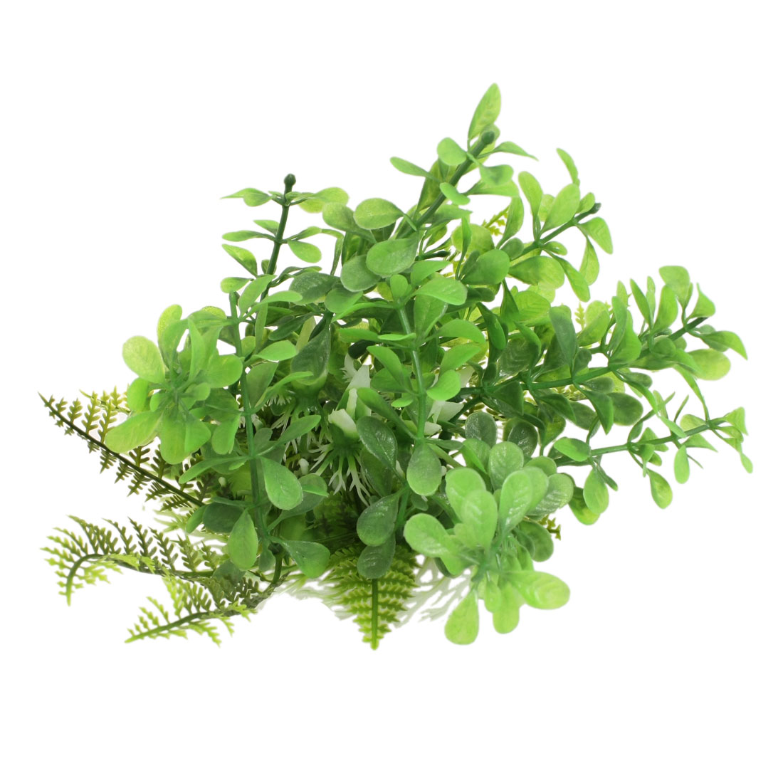 "4.3"" Height Green Manmade Plastic Grass Plant for Fish Tank"